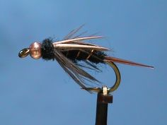 Fly Tying a Dark Lord with Jim Misiura - YouTube. This is a nice variation of the Prince Nymph.