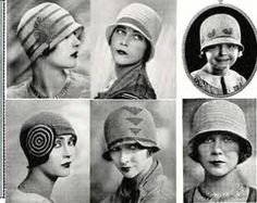 Wedding Hats | hat really defined the era. Here's a place stocking cloche hats ...