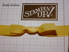 Brilliant bow tutorial.  Check out her website it has wonderful ideas