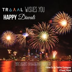 #Traaal Wishes You All a very Happy Diwali (^_^)   #HappyDiwali #Diwali #travel #followus #subscribe #startups #business #travellers #tourists #onlinetravelagency #lights #FestivalofLights #hindus #celebrations #adventures #vacations #search #joy #happiness #photography