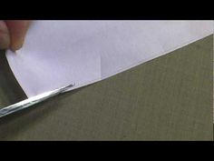I am explaining how I sew a kimono. 和裁、How to use scissors - YouTube