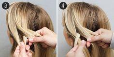 Four-Strand Braid: Steps 3-4