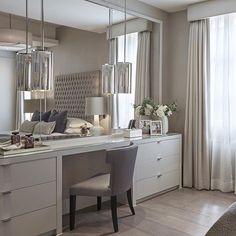 Best Modern Dressing Room For Women Style 25 Bedroom Dressers, Bedroom Wardrobe, Home Bedroom, Bedroom Furniture, Master Bedroom, Bedroom Decor, Serene Bedroom, Deco Furniture, Bedroom Inspo