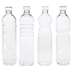 Grande bouteille en verre seletti