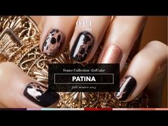 Patina Look Using OPI GelColor - Technique - NAILS Magazine