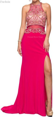 Prom Evening Formal Stretchy Gown Fitted Special Occasion Choker Neckline Dress