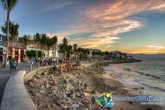 "Puerto Vallarta's Malecon (""boardwalk""). www.puertovallarta.net"