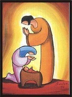 belenes nacimientos impresos -