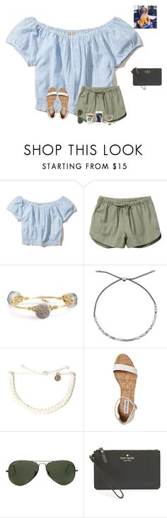 """Devo 5:John 1:12"" by raquate1232 ❤ liked on Polyvore featuring Hollister Co., RVCA, Bourbon and Boweties, Estella Bartlett, Pura Vida, Ray-Ban, Kate Spade and country"