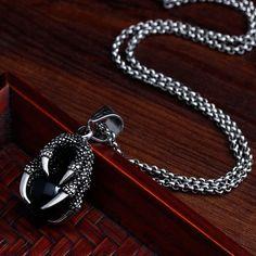 Dragon Claw Pendant #dragon #jewelry #DragonClothing.net