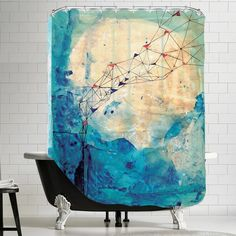 Collage Archival Shower Curtain