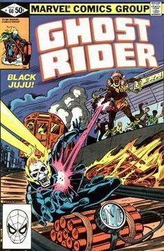 Cover for Ghost Rider (Marvel, 1973 series) #60 September 1981