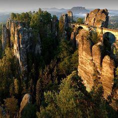 Tafelbergen, grens Duitsland-Tsjechië