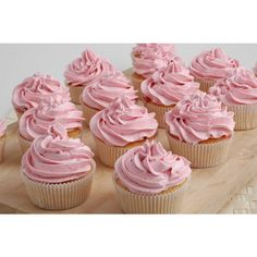 cupcake(s) of the day ❤ liked on Polyvore featuring food, backgrounds, pictures, pink, photos and fillers