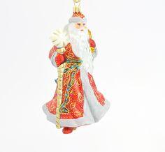 Santa with long beard