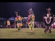 Attend a Cherokee Pow Wow!  - Cherokee Pow Wow 2010 - Old Style Grass special song 3