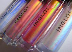 Inglot AMC lipglosses.