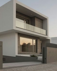 Sleek and muted exterior