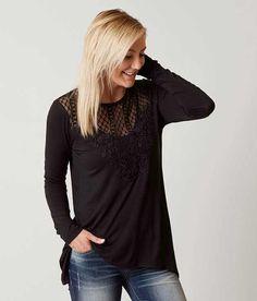 f5e283877 Daytrip Sharktooth Hem Top - Women's Shirts/Blouses in Black   Buckle. T  Shirts For WomenShirt ...
