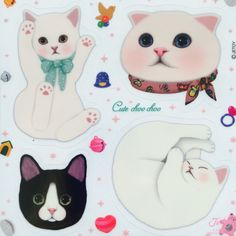 Shop premium fashion and gifts featuring the dreamy-eyed Choo Choo Cats of Jetoy. Great gifts for cat lovers, including beautiful stationery and planners. Cat Lover Gifts, Cat Gifts, Cat Lovers, Dog Illustration, Cartoon Illustrations, Cat Coloring Page, Cat Pose, Cat Stickers, Cat Drawing