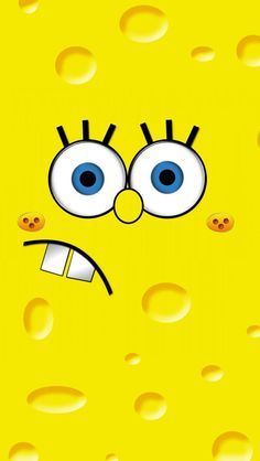 Spongebob Face iPhone 5 Wallpapers HD