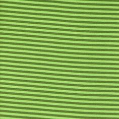 Stripes, Lime Green: Rib Cuff