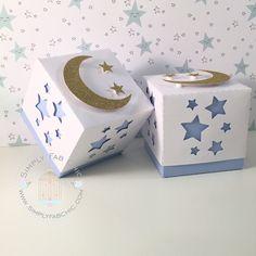 Twinkle Twinkle Little Star Favor Box | Baby Shower | 1st Birthday | Birthday Boy Girl (Qty 10)