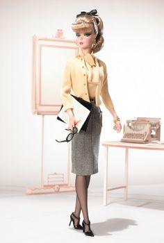 The Secretary Barbie Doll - Silkstone - 2007 Fashion Model Collection - Barbie Collector