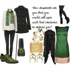 Loki, created by favourite-fictional-fashions on Polyvore