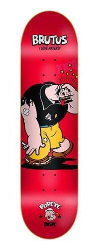 """DGK - Popeye Brutus 8.1"""" Skateboard Deck"""
