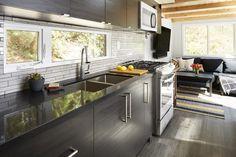 The Lillooet tiny house kitchen