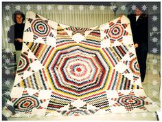 Busy Bee No. 16: Quilting Family Treasures ... A very large Lone Star