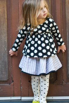 Reversible Skirt (Baby Girls) by Right Bank Babies on Precious Children, Beautiful Children, Cute Outfits For Kids, Cute Kids, Reversible Skirt, Little Fashion, Kid Styles, Baby Fever, Kids Playing