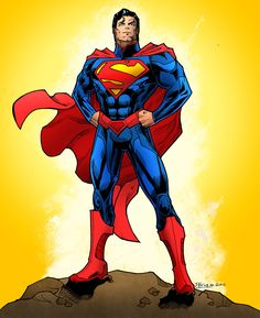 New 52 Superman Colors! by jakekless on DeviantArt
