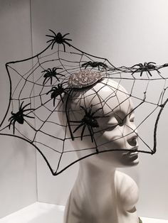 A personal favorite from my Etsy shop https://www.etsy.com/listing/249371865/spider-web-fascinator-halloween-headband