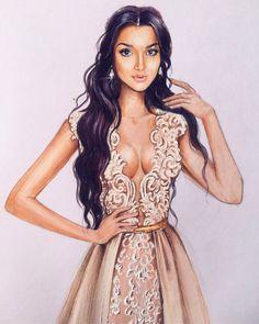 Ирина Пирогова   Fashion illustration