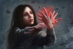 Amazing Scarlet Witch fanart.