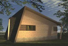 Casa Ecologica MICRO STANDARD - Construcții de case din lemn și case imprimate 3D Solar, Sweet Home, Shed, Outdoor Structures, Outdoor Decor, House, Home Decor, Houses, Decoration Home