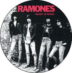 Rocket to Russia RAMONES Button Badge Pinback Pin by BeatGorilla