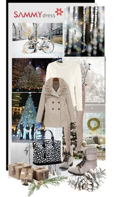 """""""Christmas outfit"""" by snje2105 ❤ liked on Polyvore"""