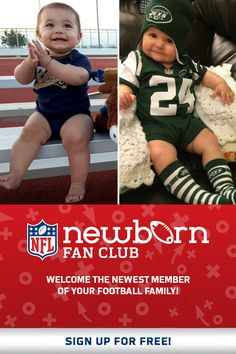 Welcome the newest member of your football family!