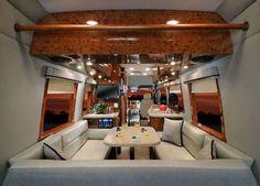 Sprinter Van Sleeper Conversions   Four Winds Ventura class B motorhome review - Roaming Times
