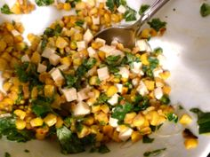 Esquites Mexican Corn Salad | Fresh Pressed Life