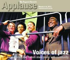 Augusta Jazz Project at McBean Elementary (cover of Applause)