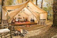 Gillar detta tält ❤️