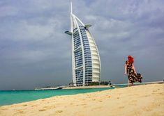 Photos of Dubai that will inspire you to visit one of the most fascinating countries in the world. Dubai is a city full of vibrance and awe. Sunset Beach Dubai, Hotel Sunset, Dubai Desert, Dubai City, Dubai Mall, Great Buildings And Structures, Beautiful Buildings, Modern Buildings, Travel And Tourism