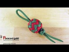 Paracord Christmas tree decorations- baubles - YouTube