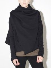 long sleeve wrap black Oak