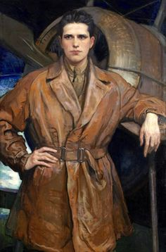 Violet Oakley (American, 1874-1961), Henry Howard Houston Woodward, 1921. Oil on canvas, 53 x 35 in. (134.6 x 88.9cm.)