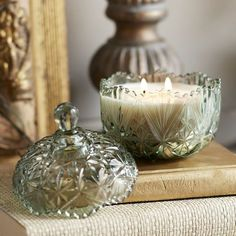 For Moms- Her favorite fall scent nestled in a vintage-chic dish. Perfection. Chai Pumpkin Vintage-Style Dish Filled Candle, $8; pier1.com. Get more clever gift ideas that won't break the bank at redbookmag.com.